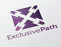 Exclusive Path Logo Template