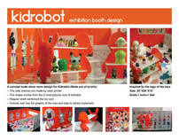 Kidrobot booth design