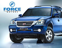 Force Motors Website