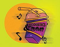 Acoustics & Slushes Logo