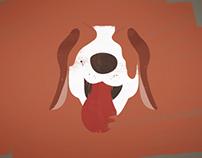 Milo the beagle