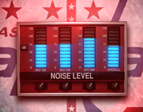 Washington Capitals: Falling Noise Meter