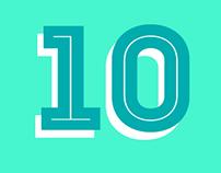 10 AÑOS CREANDO LETRAS