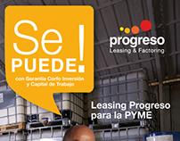 Se puede: Campaña Progreso 2013