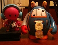 My kidrobot and dudebox