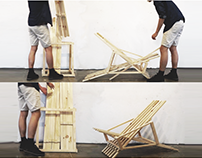 Deconstructable Lounge Chair