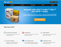 Parcel API Website