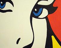 Lichtenstein Style.