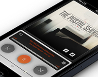 Shuffle Music Player App inspired by Dieter Rams
