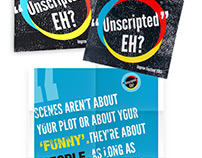 """Unscripted Eh?"" 