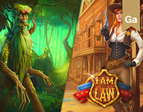 Slot Game: Faerie Nights / I am the LAW