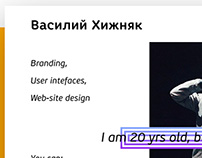 Portfolio Concept | Web