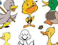 Ilustracje dla dzieci. Projektowanie postaci.