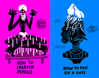 Book covers illustrations