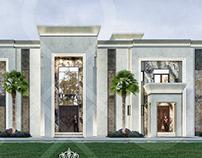 Luxury elegance new classic villa in UAE