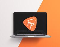 Fraîchement pressé website - Logo, hand lettering