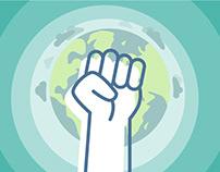 Fairtronics Branding, UI and illustration