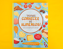 Let's get to know our food! Book illustration &design
