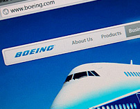 Boeing Corporate Website