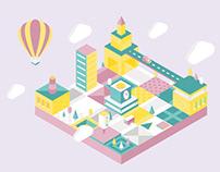 Brite City: Interactive Animation