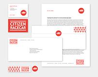 CitizenRacecar Brand Identity and Web Design