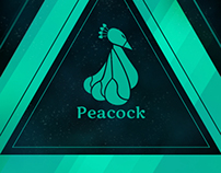 iPhone peacock cover