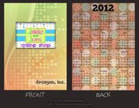 2012 Pocket Calendar Design