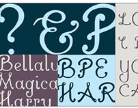 Bellaluna Typeface