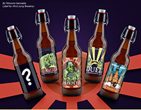 Beer labels for Russian Brewery