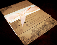 Kate and Lee Wedding Invitations