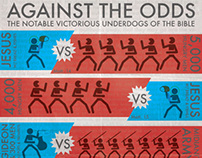 Against The Odds: Biblical Underdogs Infographic