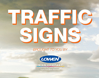 Traffic Sign Promotional Materials