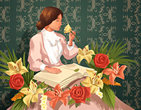 Hellen Keller Illustrations