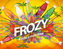 Frozy - soda drink - stand