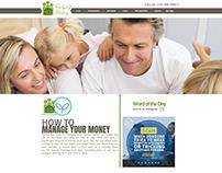 Family Life Banking (Web Design)
