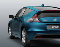 Honda CRZ flash presentation