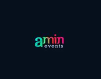 Amin Events - Logo