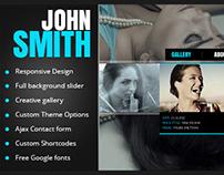 ohn Smith - AJAX Portfolio WP Theme