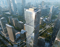TEAME 3D Renderings--- Super High Rise Buidling