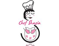 Chef Shazia's logo