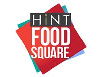 HiNT Food Square Logos