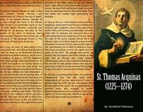 St. Thomas Acquinas 3-Fold Brochure