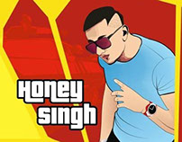 Honey singh Vector painting