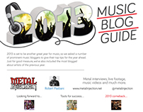 2013 Music Blog Guide