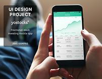 UI Design Project: Yostocks