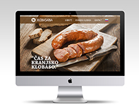 Website Redesign for Klobasarna