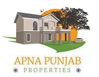 Apna Punjab Properties: Logo and Website Design