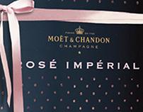 Moët & Chandon rosé / concept invented