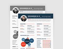 Free Resume, Portfolio & Cover Letter Template
