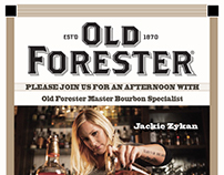 Brown Forman Event Flyers